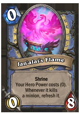 Jan'alai's Flame Card