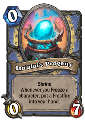 Jan'alai's Progeny Card