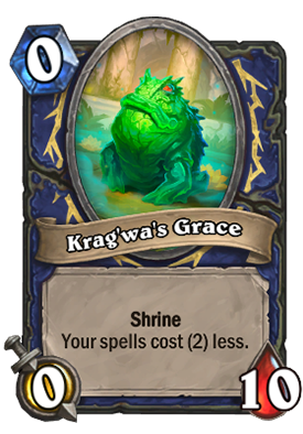 Krag'wa's Grace Card