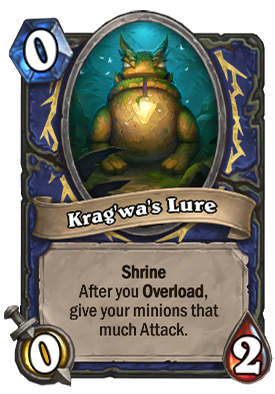 Krag'wa's Lure Card