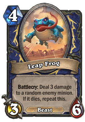 Leap Frog Card