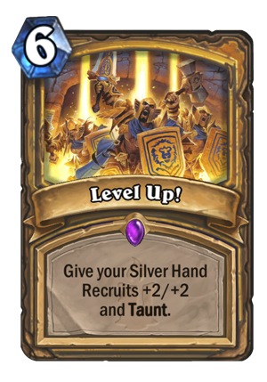 Level Up! Card