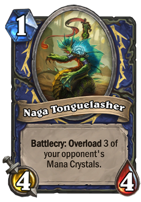 Naga Tonguelasher Card