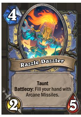 Razzle Dazzler Card