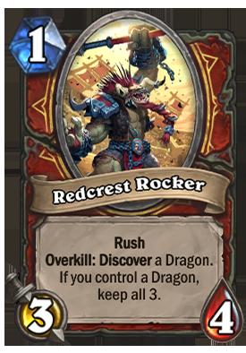 Redcrest Rocker Card
