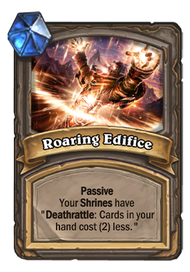 Roaring Edifice Card