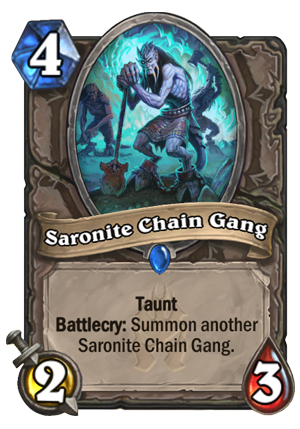 Saronite Chain Gang Card