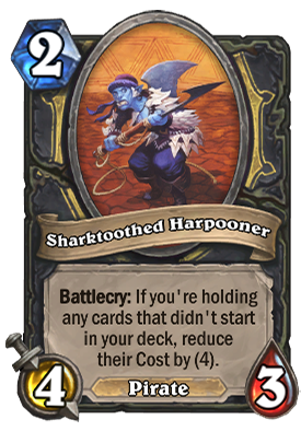 Sharktoothed Harpooner Card