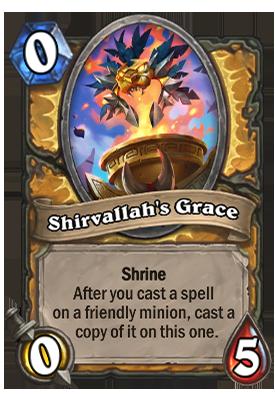 Shirvallah's Grace Card
