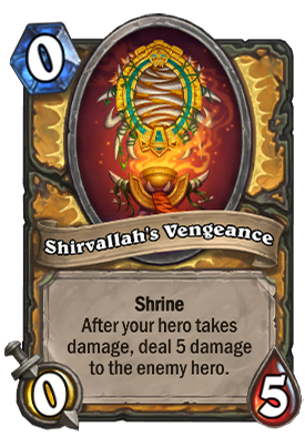 Shirvallah's Vengeance Card