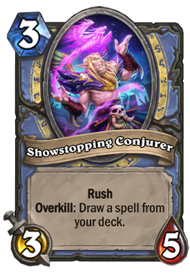 Showstopping Conjurer Card