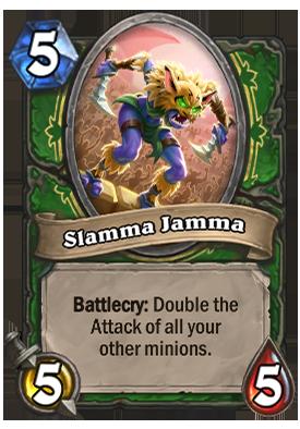 Slamma Jamma Card