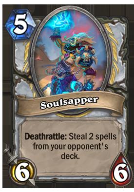 Soulsapper Card