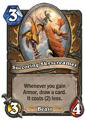 Succoring Skyscreamer Card
