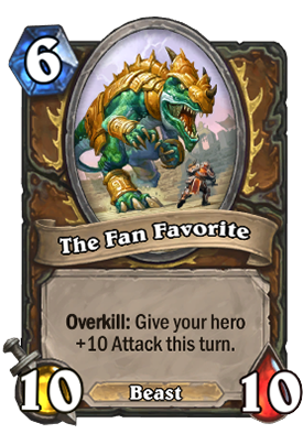The Fan Favorite Card