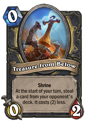 Treasure from Below Card