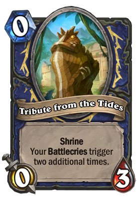 Tribute from the Tides Card