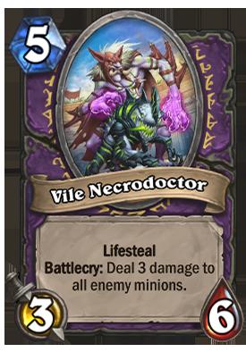 Vile Necrodoctor Card