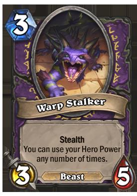 Warp Stalker Card