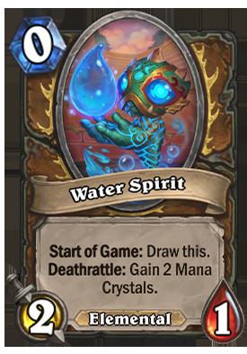 Water Spirit Card
