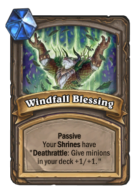 Windfall Blessing Card