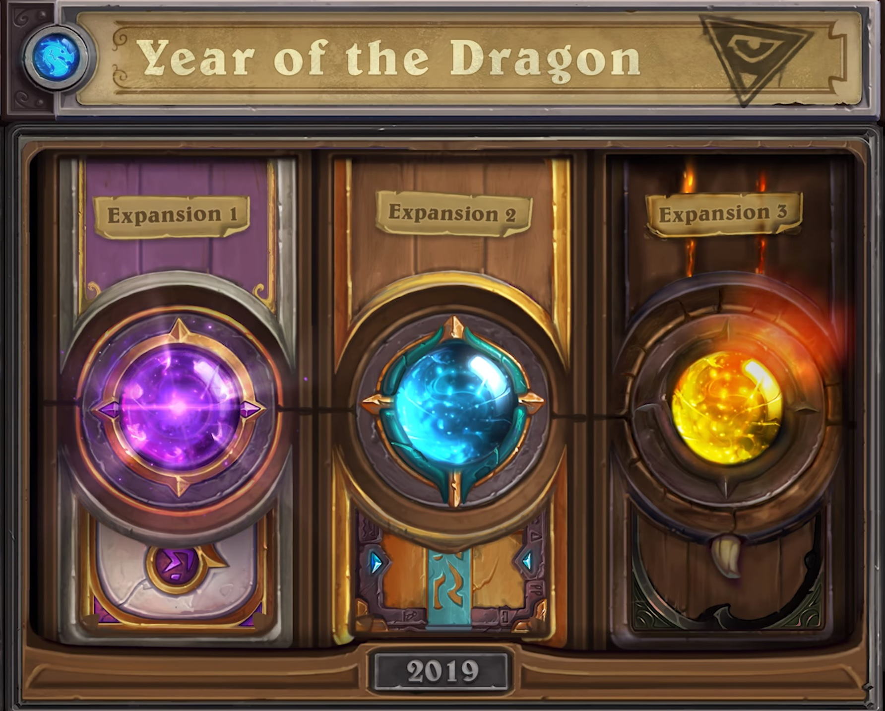 Year of the Dragon is Coming To Hearthstone! Hall of Fame