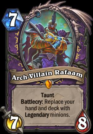 Arch-Villain Rafaam Card