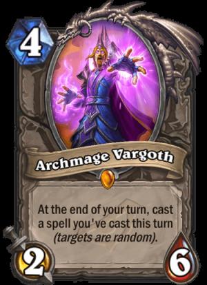 Archmage Vargoth Card
