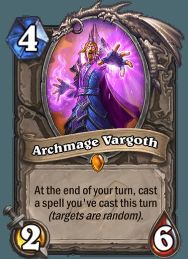 Archmage Vargoth - Hearthstone Card - Hearthstone Top Decks