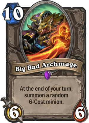 Big Bad Archmage Card