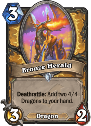 Bronze Herald Card