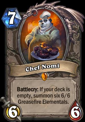 Chef Nomi Card