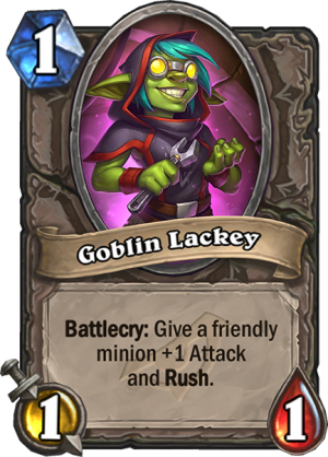 Goblin Lackey Card