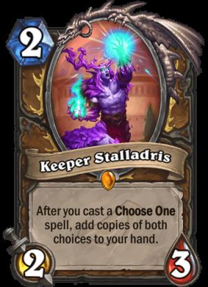 Keeper Stalladris Card