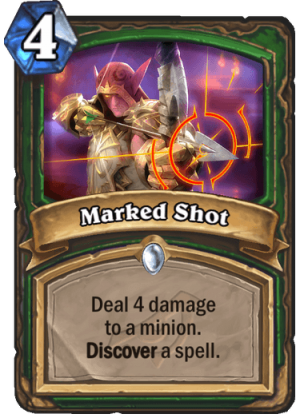 Marked Shot Card