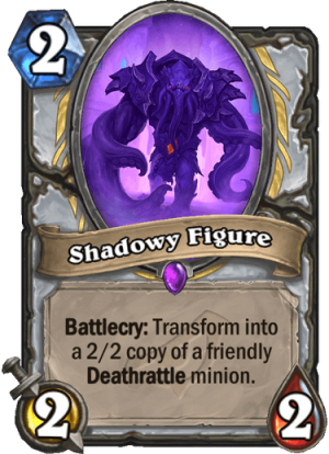 Shadowy Figure Card