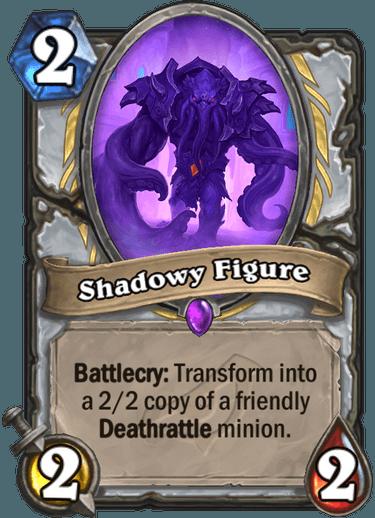 Shadowy Figure - Hearthstone Card - Hearthstone Top Decks
