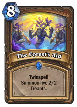 The Forest's Aid Card
