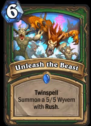 Unleash the Beast Card