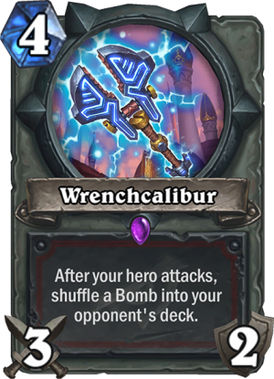 Wrenchcalibur Card