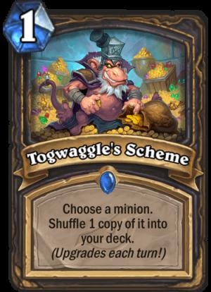 Togwaggle's Scheme Card
