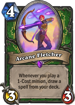 Arcane Fletcher Card