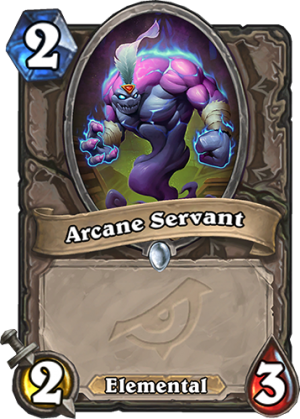 Arcane Servant Card