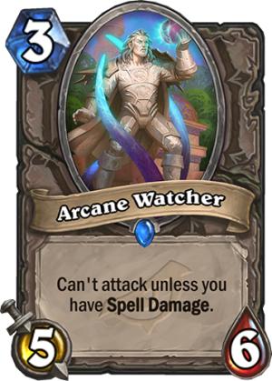 Arcane Watcher Card