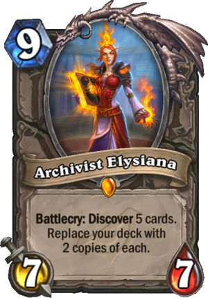 Archivist Elysiana Card