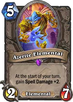 Azerite Elemental Card