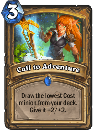 Call to Adventure Card