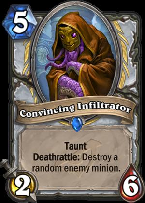 Convincing Infiltrator Card