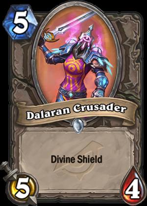 Dalaran Crusader Card