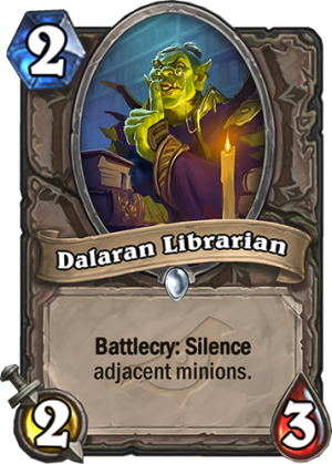 Dalaran Librarian Card